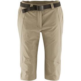 Maier Sports Kluane Pantalones 3/4 Mujer, beige